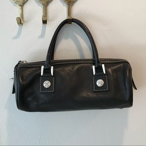 Vintage Black Leather Michael Kors Purse